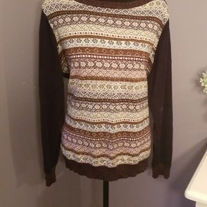TOMMY HILFIGER scoop neck sweater. Size 1x